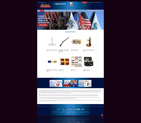 Glendale website